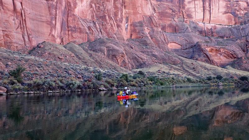 Kayak, Glen Canyon, Horseshoe Bend, Colorado River